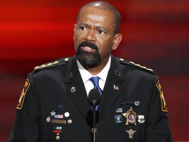 Sheriff David Clarke Wife, Children, Parents, Family, CNN, Height, Bio